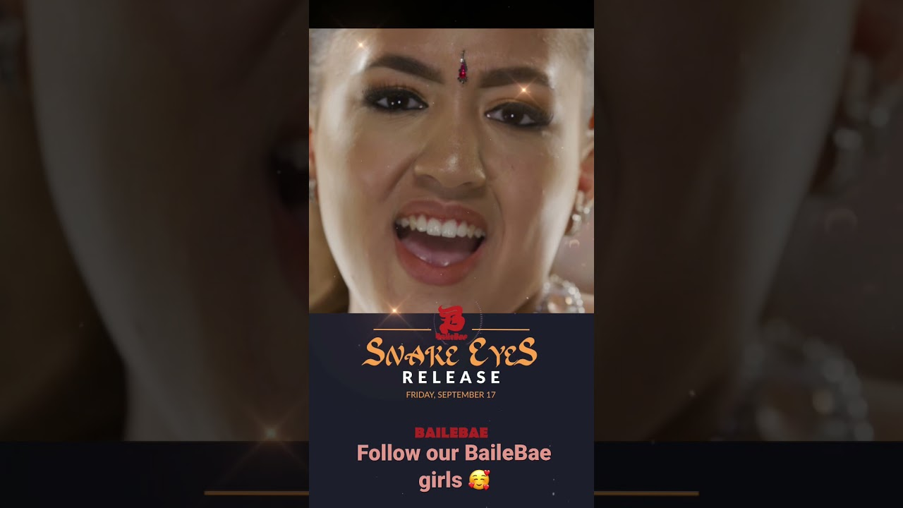 Snake Eyes Release 17 September 🐍🥰