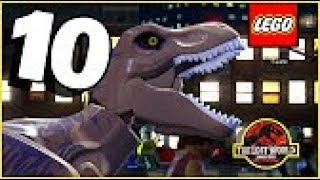 Let's Play: LEGO Jurassic World #10 (With Fries101Reviews)