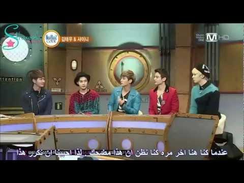 130304 Beatles Code 2 - SHINee Part 1 {Arabic Sub}
