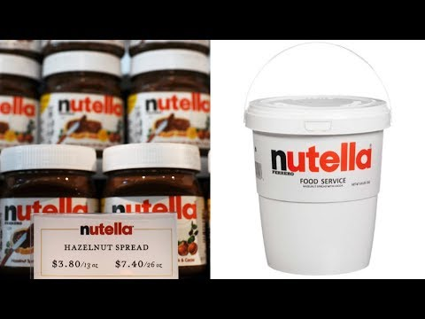 Chelsea Thomas - You Can Now Buy a 6.6 lb Tub of Nutella...