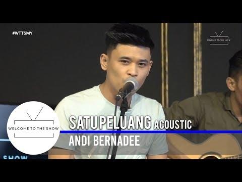 #WTTSMY | Andi Bernadee - Satu Peluang (Acoustic)