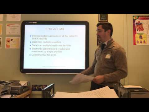 EHR Chapter 1 Lecture: Introduction to Electronic Health Rec