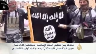 """معارك بين تنظيم """"الدولة الإسلامية"""" ومقاتلين أكراد"""