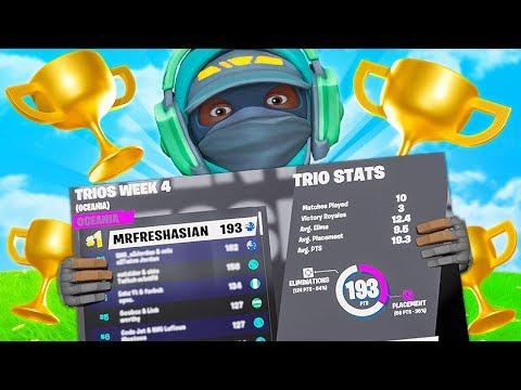 WE GOT 1ST PLACE! (Trio Champion Series)