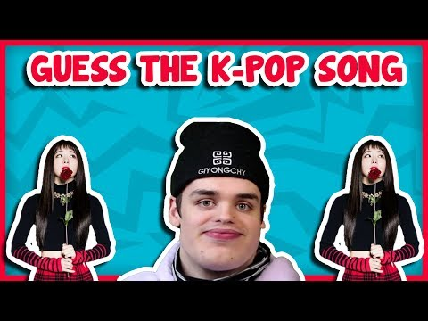 GUESS THE K-POP SONG [2x SPED UP]