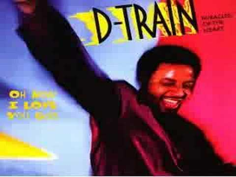 "James ""D-Train"" Williams  Oh how i love u girl 12 inch"