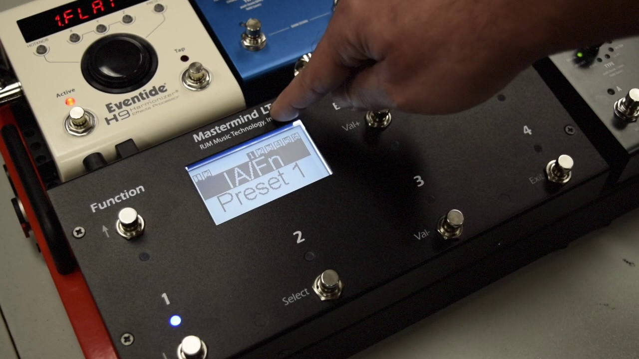 Mastermind LT MIDI Foot Controller | RJM Music Technology, Inc