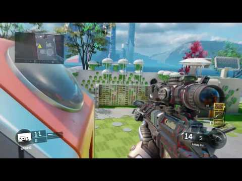 BO3- 1v1 Aimbot hacker Sniper vs Gunner, CANDY EXPOSED!!