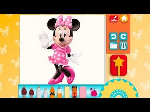 Minnie Mouse 3D Coloring And Play Paint Great Makeover for Children GamePlay HD #3