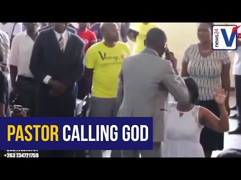 This pastor is going viral for talking to...