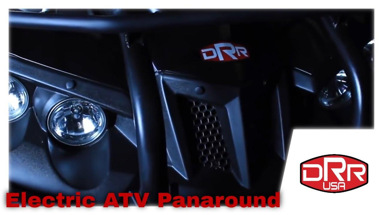 DRR Electric ATV Smooth Pan Around