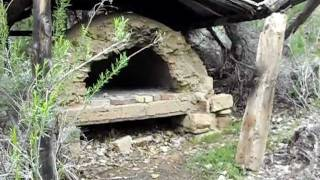 Beehive oven at the Ghost Town in Sego and Thompsons Canyons, Utah