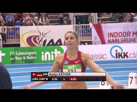 Indoor Meeting Karlsruhe 2015 - Long Jump W