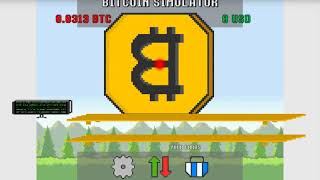 Bitcoin Simulator Game