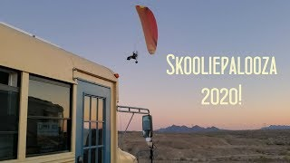 SKOOLIEPALOOZA 2020 // What does bus life mean?
