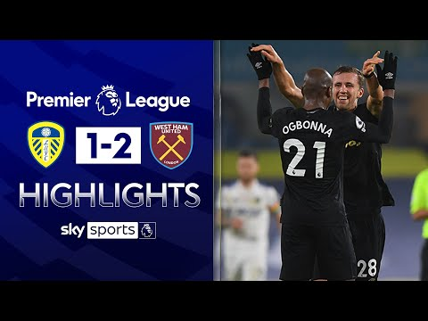 Soucek & Ogbonna headers seal comeback at Leeds! | Leeds Utd 1-2 West Ham | EPL Highlights