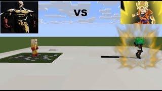 MONSTER SCHOOL Monster student VS Saitama Wither the saiyan Minecraft Animation