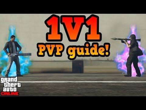 1v1 Player VS Player guide - GTA online guides