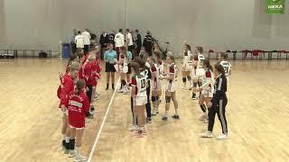 Magyarország U17 - Dánia női ifjúsági válogatott kézilabda mérkőzés felvétele
