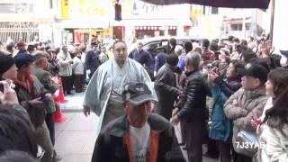 大相撲大阪場所二年ぶりの春