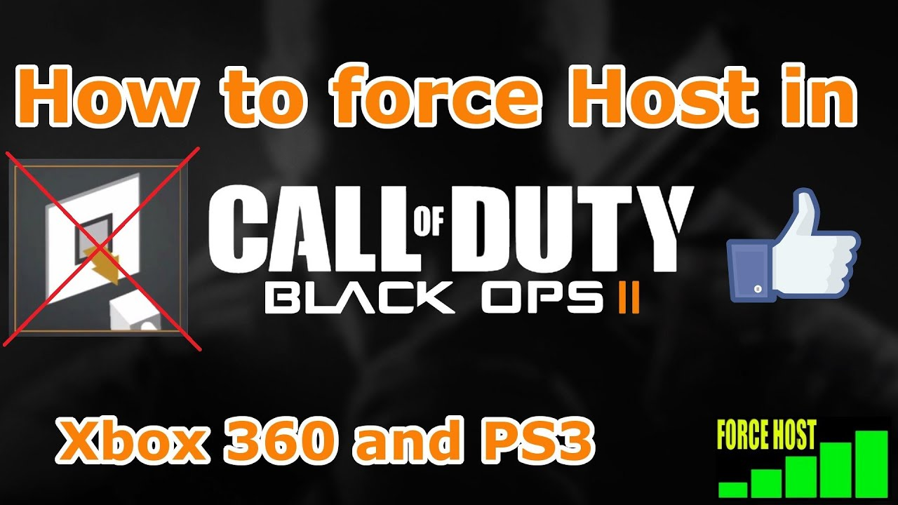 bo2 how to get force host infection