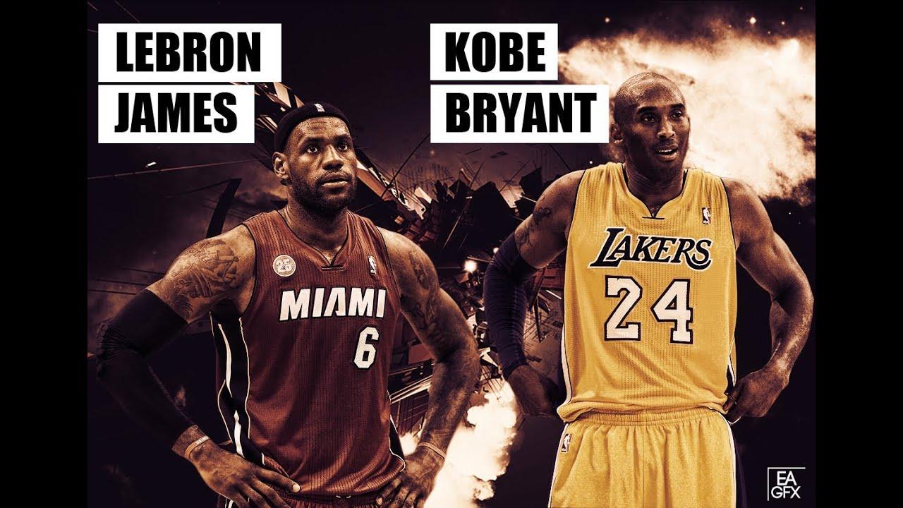 Kobe Bryant And Lebron James Wallpaper Youtube