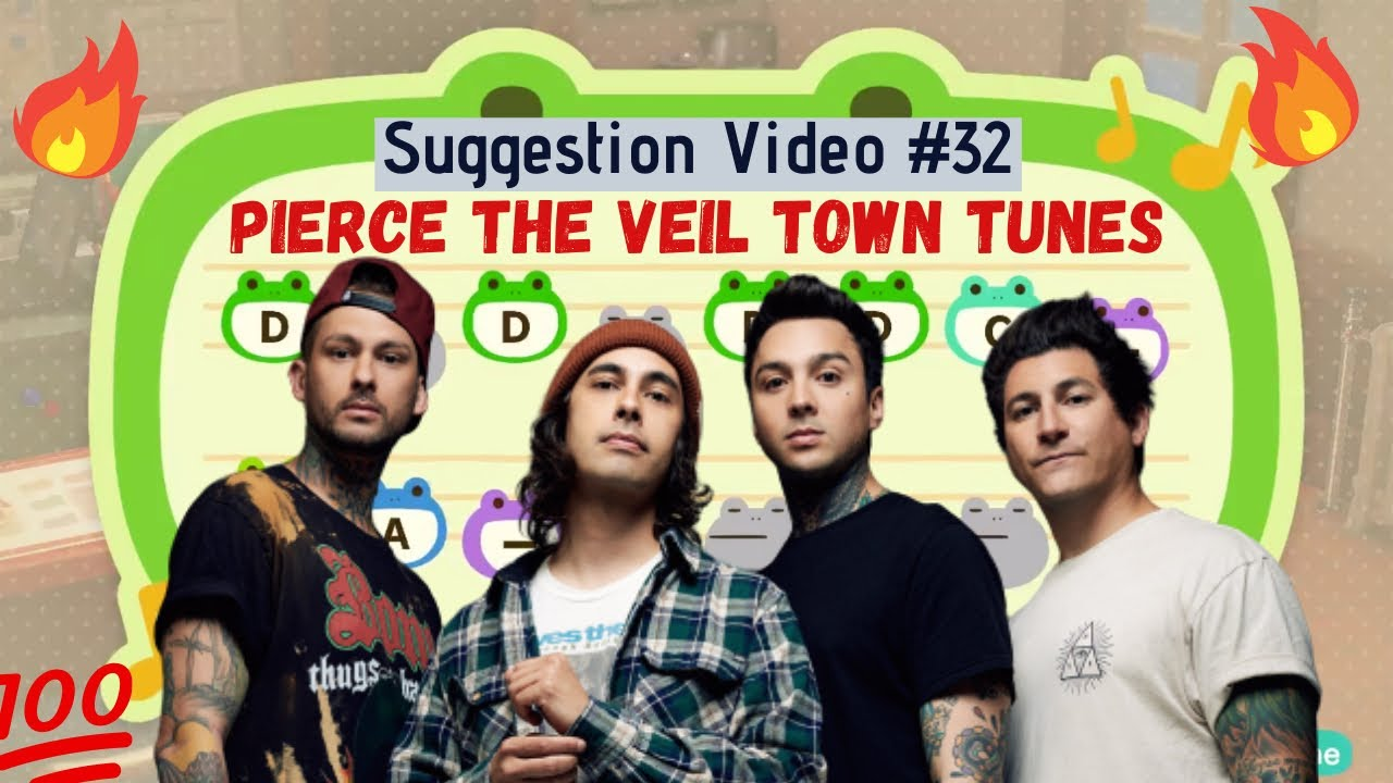 Pierce The Veil Town Tunes for Animal Crossing New Horizons ACNH Suggestion Video #32