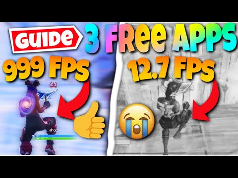 3 Underrated Free FPS Boosters For Fortnite! (How To Increase/Boost FPS, Max FPS Performance)