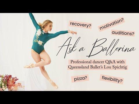 Professional Ballerina Q&A | Lou Spichtig, Queensland Ballet