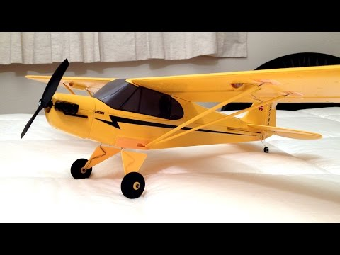 complete-unboxing,-maiden-flight,-and-review---e-flite-umx-j-3-cub-rc-plane