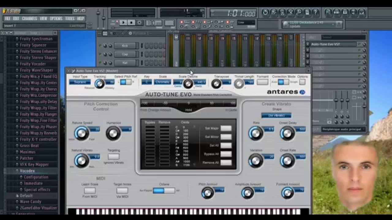 Auto tune options for fl studio 2