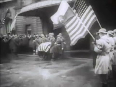 General George S Patton Funeral 1945 Youtube