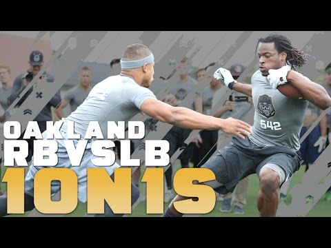 Nike Football's The Opening Oakland 2016 | RB vs LB 1 on 1's