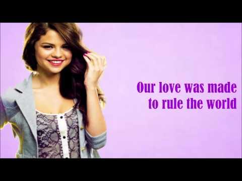 Forget Forever-Selena Gomez (Lyrics Video)