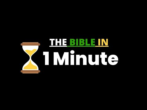 The Bible in One Minute