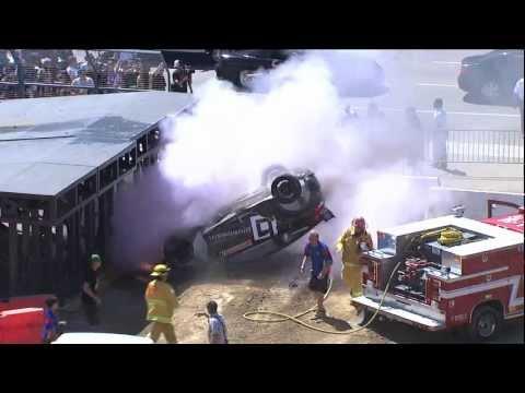 X Games Los Angeles 2012: RallyCross Crash (Extended Version) - ESPN X Games