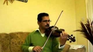 Mera Dil Ye Pukare  on Violin ( Nagin)