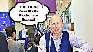 Day #2 at Malta Blockchain Summit | TOP 3 ICOs From Summit by ICOexpert