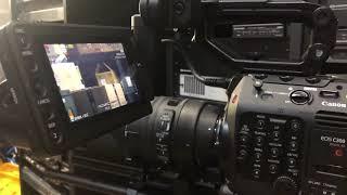 Canon C300 mark III 카메라 버튼 사용법