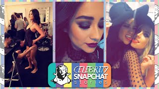 SHAY MITCHELL September 2015 Snapchat PART 2 | feat. Ian Harding, Ashley Benson, Troian Bellisario