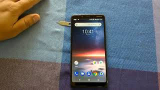 Nokia 3.1 Plus: How to insert SIM & MicroSD cards