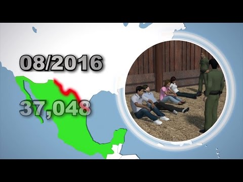 Illegal immigration spikes along US-Mexico border in South Texas