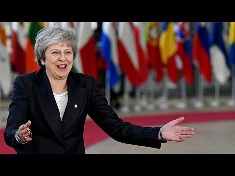 May pede ajuda para salvar Brexit na cimeira da UE