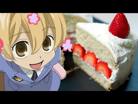 Honey Senpai's STRAWBERRY SHORTCAKE from Ouran High School Host Club | Feast of Fiction S6 Ep10