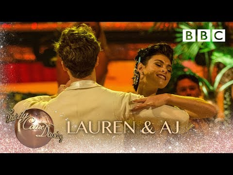 Lauren & AJ American Smooth to Im In Love With A Wonderful Guy from South Pacific - Strictly 2018