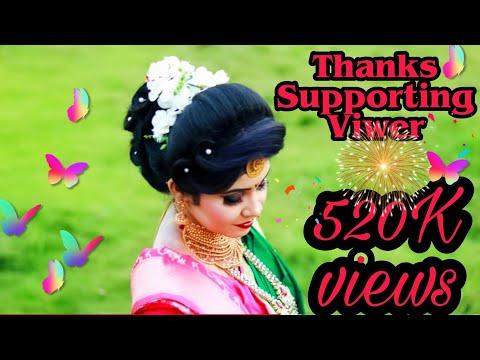 Maharashtrian Bridal Makeup & Hair Style / Vitilogo Skin / Nauvari Saree / Makeup By Kamini Bhoir