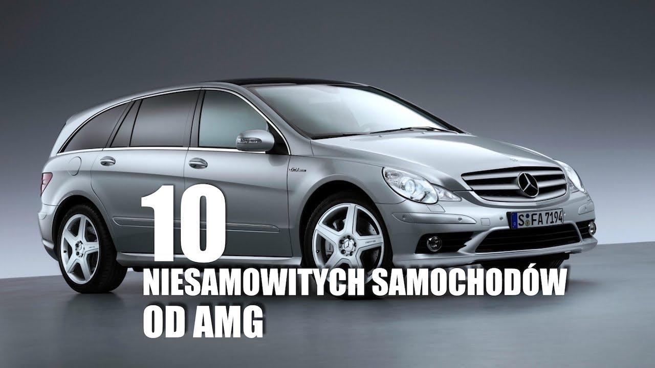 10 niesamowitych samochodów od AMG – #109 TOP10