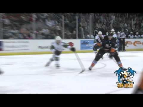 San Diego Gulls Antoine Laganiere Scores Gulls 1st Playoff Goal