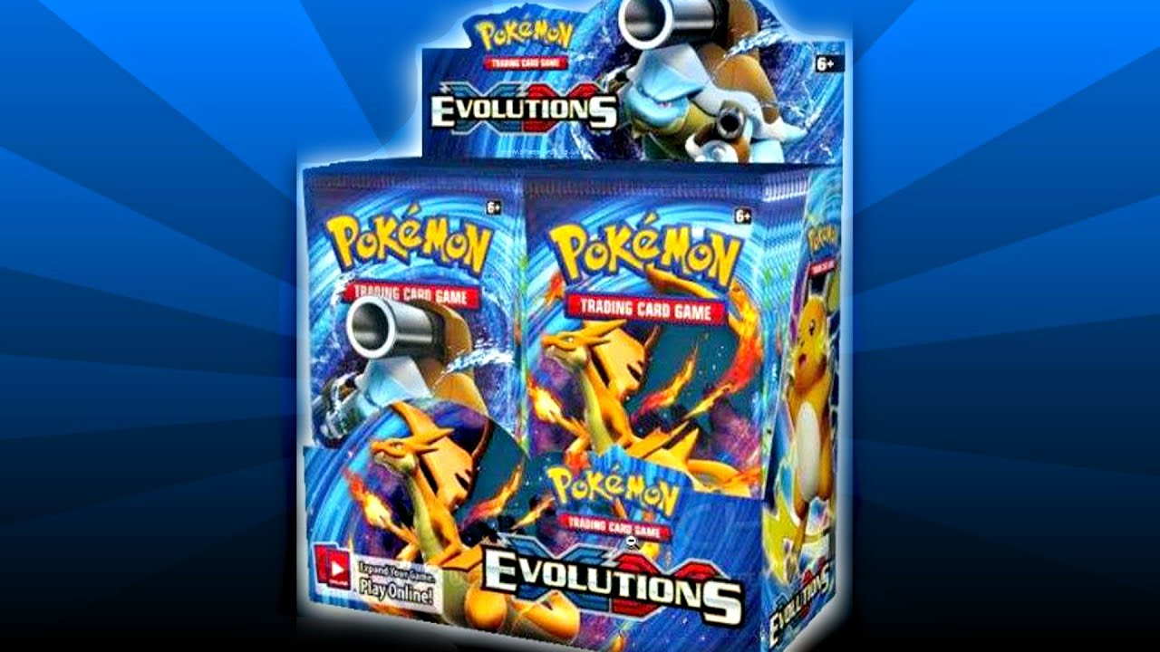 Pokemon cards xy evolutions tcg is on the way the pokemon go effect youtube - Evolution pokemon xy ...
