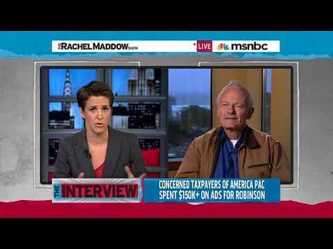 Rachel Maddow- Robinson (1) 'I'm not a politician_ I'm a scientist'
